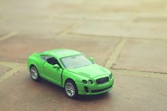Indian Made Toy Car. Indian Made Kid`s Toy Car Royalty Free Stock Image