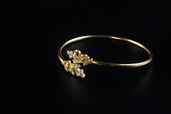 Indian Made Wedding gold bracelets Stock Photography