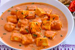 Indian Punjabi curry-Paneer butter masala Royalty Free Stock Image