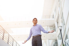 Indian male celebrating success Royalty Free Stock Photos
