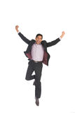 Indian male celebrating success Royalty Free Stock Photo