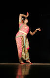 Indian male Dancer Kuchipudi Haleem khan. Indian male Dancer Haleem khan performs kathak dance in female impersonation n Alliance Fran�§aise and AP Tourism Stock Images