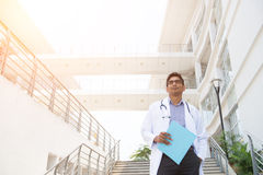 Indian male doctor Stock Photography