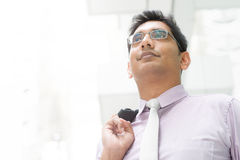 Indian male looking away Royalty Free Stock Image