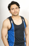 Indian male model in vest Royalty Free Stock Images
