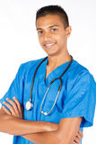 Indian male nurse Royalty Free Stock Photo