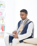 Indian male with tradtional dresss Stock Image