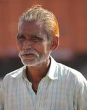 Indian Man. AGRA, INDIA, FEBRUARY 25: An unidentified man outside the Agra Fort on February 25, 2013 during the Taj Mahotsav Festival in Agra, Uttar Pradesh Stock Image