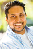 Indian man close up Royalty Free Stock Photo