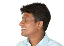 Indian man looking away Stock Photos
