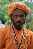 Indian man in national clothes Royalty Free Stock Images