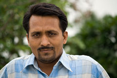 Indian Man's portrait Royalty Free Stock Photo
