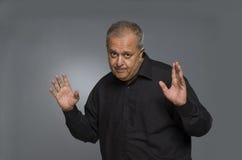 Indian man speaking Royalty Free Stock Photos