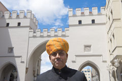 Indian man with turban in Munich Stock Images