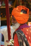 Indian man in turban Royalty Free Stock Photography