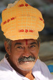 Indian Man with turban Stock Photography
