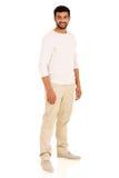 Indian man white background Stock Photo