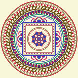 Indian Mandala. Royalty Free Stock Image