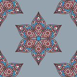 Indian mandala pattern Stock Photography