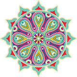 Indian mandala Royalty Free Stock Images