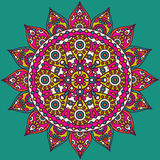 Indian mandala Stock Image