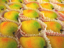 Indian Mango Sweets Royalty Free Stock Photography