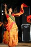 Indian manipuri dance royalty free stock photo