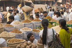 Indian Market Royalty Free Stock Images