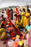 Indian Market Stock Photography