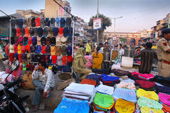 Indian Market Royalty Free Stock Photos