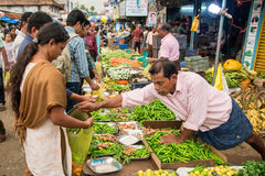 Indian market Royalty Free Stock Photography