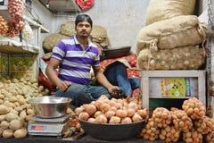 Indian market Royalty Free Stock Image