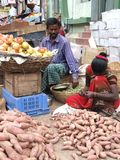 Indian Market after Tsunmai 2004 Stock Image