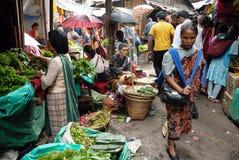 Indian Marketplace Royalty Free Stock Photo