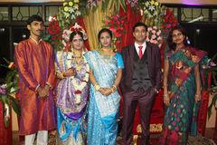 Indian Marriage Ceremony Stock Photo