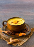 Indian masala chai with spices Royalty Free Stock Images