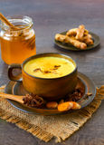 Indian masala chai with spices Royalty Free Stock Photography