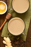 Indian Masala Chai Tea Royalty Free Stock Images