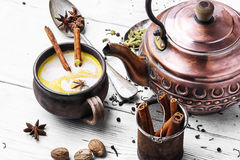 Indian masala tea Stock Photography