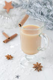 Indian masala tea with spices Stock Images