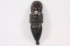 Indian mask made of wood Stock Photography