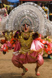 Indian masked dancer Stock Photography