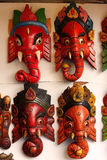 Indian masks Royalty Free Stock Images