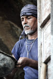 Indian mason laborer Stock Photo