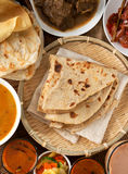 Indian meal royalty free stock photo