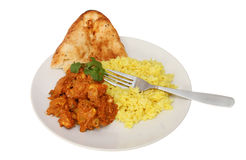Indian meal Stock Images