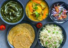 Indian Thali royalty free stock photos