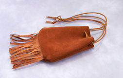 Indian medicine pouch Royalty Free Stock Images
