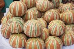 Indian melon fruits Stock Photo