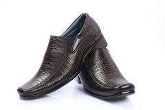 Indian Men's Shoes Royalty Free Stock Photos